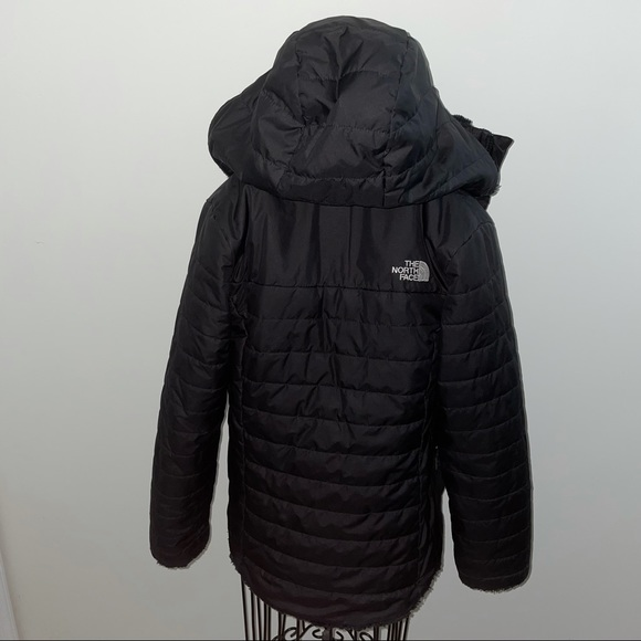 The North Face Lined Hooded Jacket. Like new. Dry cleaned.